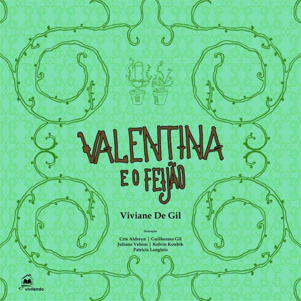 Capa Valentina e o feijão